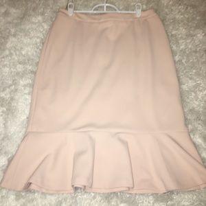 Calvin Klein, Size 6, Blush Skirt